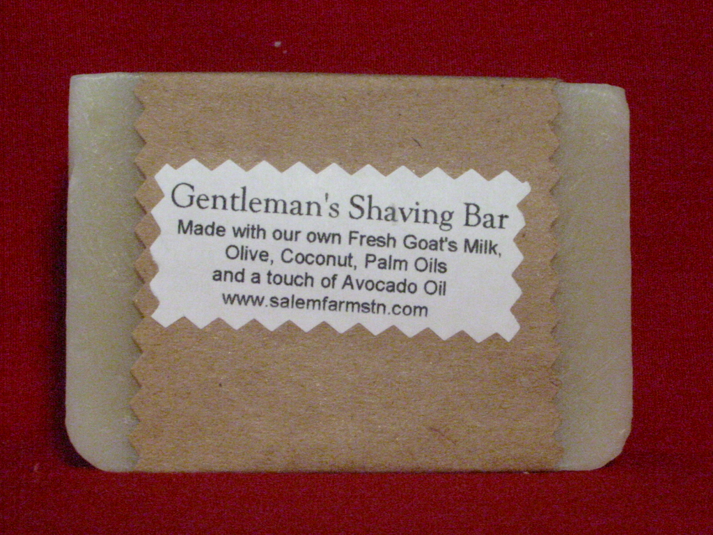Gentleman's Shaving Bar